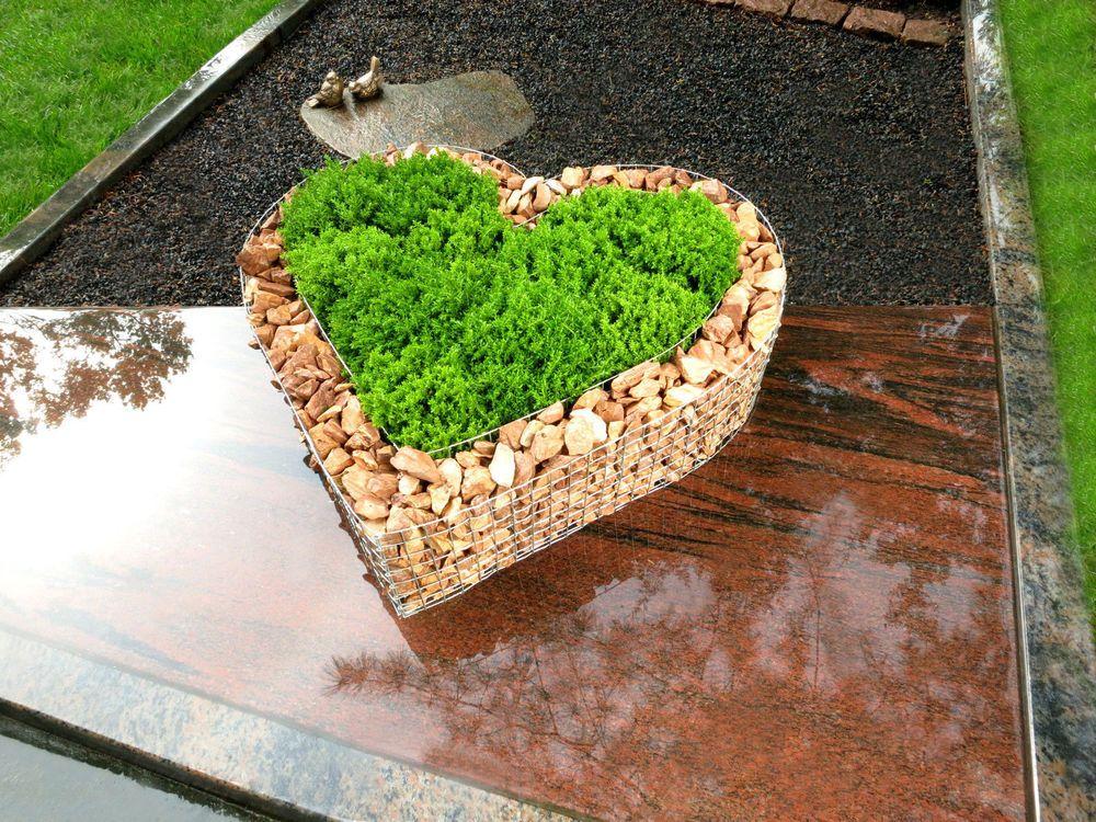 details zu herz k rbe garten schale grab pflanzen bertopf. Black Bedroom Furniture Sets. Home Design Ideas