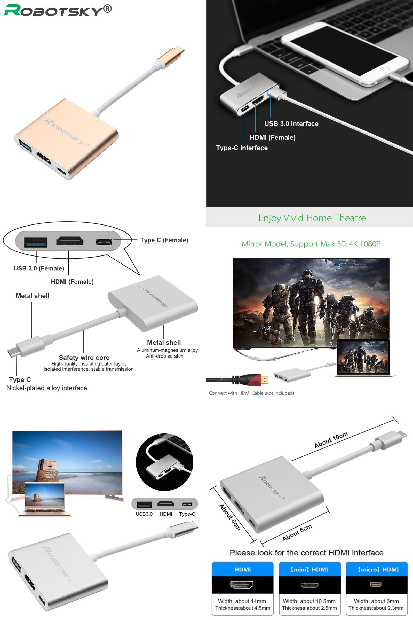 Visit To Buy Robotsky Usb 31 Type C Hdmi 30 Hub Wiring Diagram For