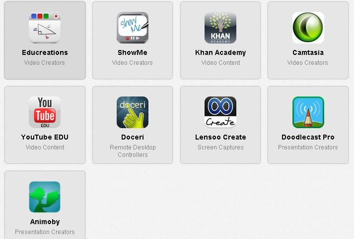 Apps para flipedclasssroom