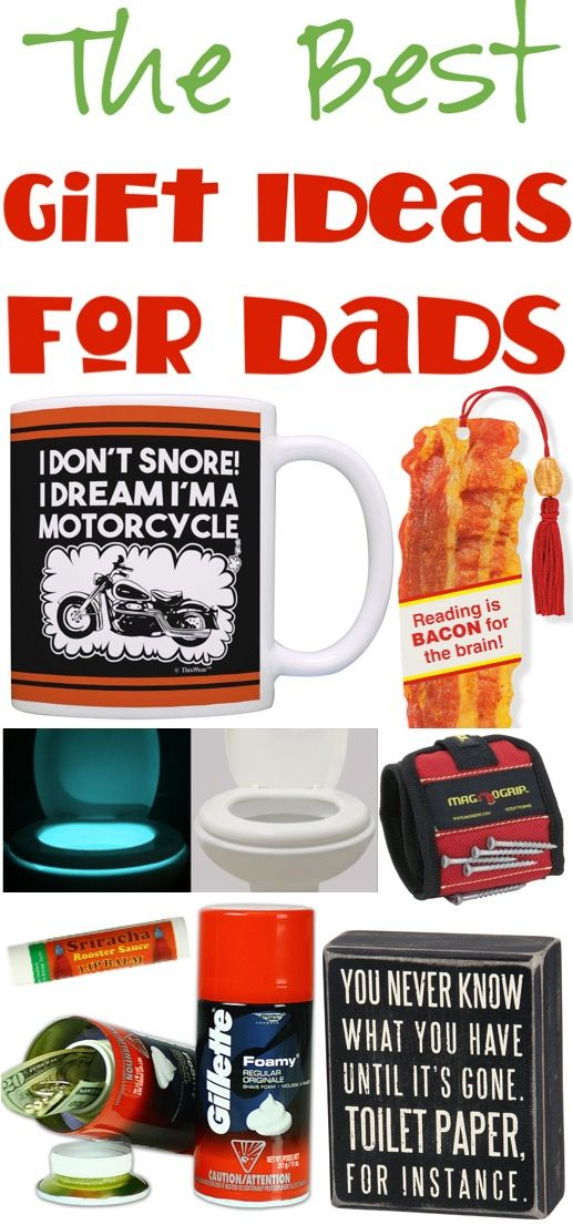 Christmas Gifts for Dad from Kids or Adults! Fun Gift Ideas a ...