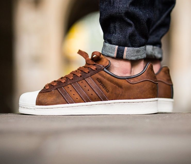 hot sales fc73c 1a2d1 adidas Originals Superstar RT Brown