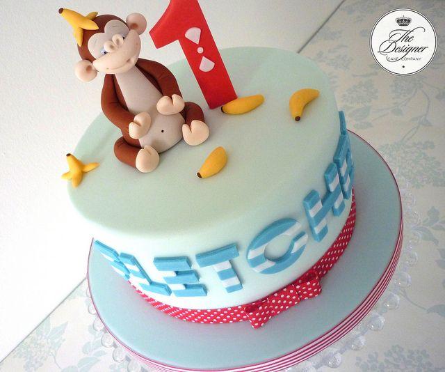 Cheeky Monkey Birthday Cake