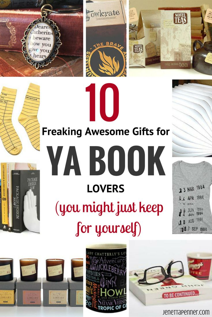 10 freaking awesome gifts for ya book lovers (that you might just