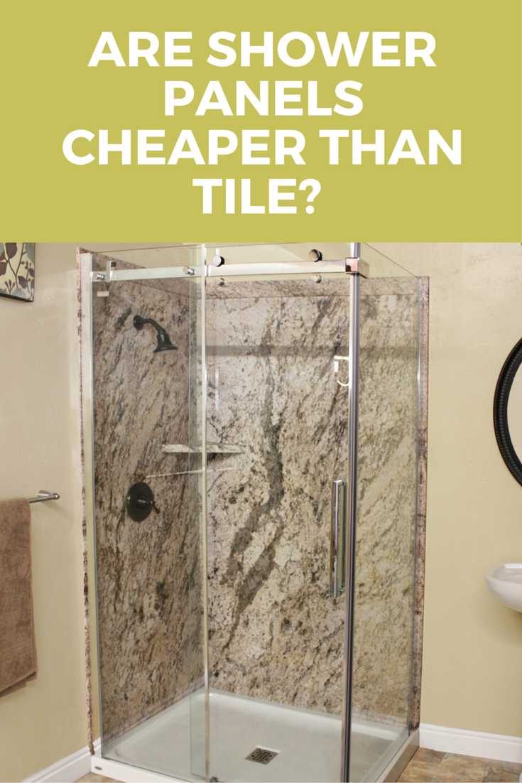 Are Shower Wall Panels Cheaper Than Tile 7 Factors You Need To Consider Shower Wall Panels Corian Shower Walls Shower Panels
