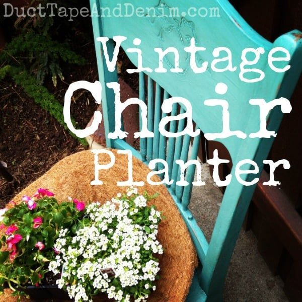 How to turn a broken old chair into a stunnin