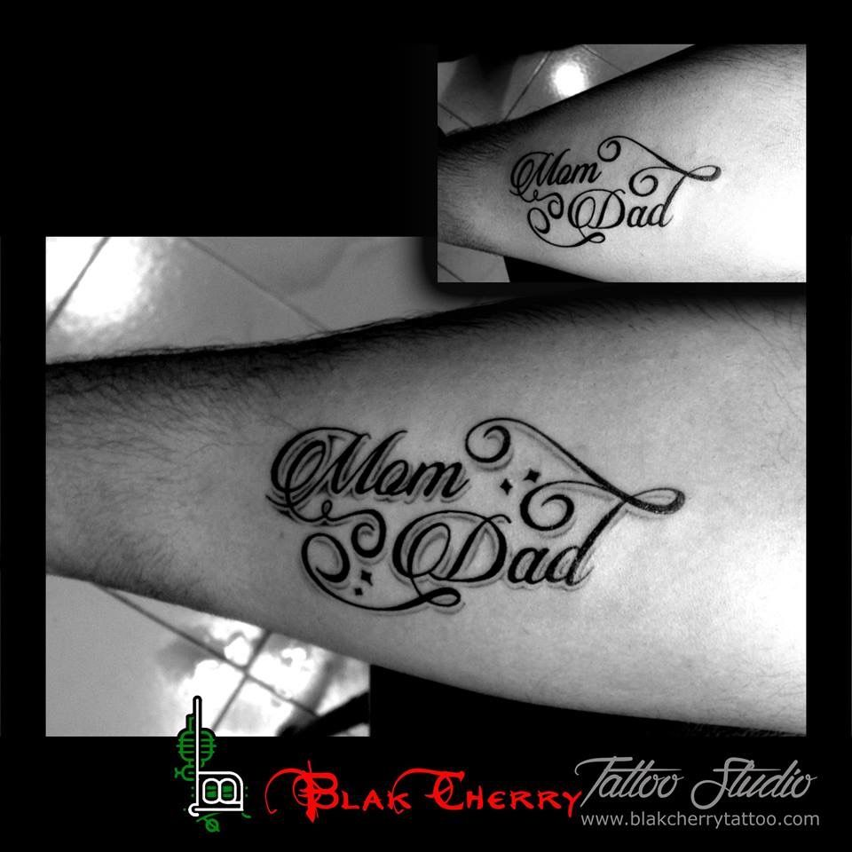 Mom dad tattoo tattoo and art pinterest mom dad tattoos dad mom dad tattoo biocorpaavc Image collections