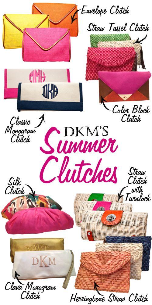 DKM Summer Clutches