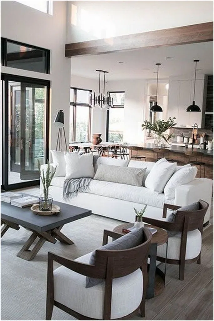 10 Amazing Neutral Modern Living Room
