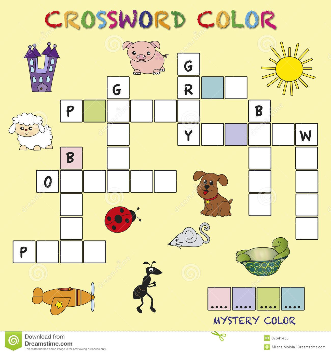 Printable Crossword Puzzles For Kids