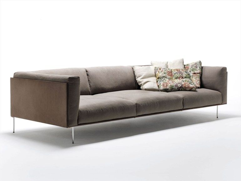 Upholstered sofa Rod Collection by Living Divani design Piero - divanidivani luxurioses sofa design