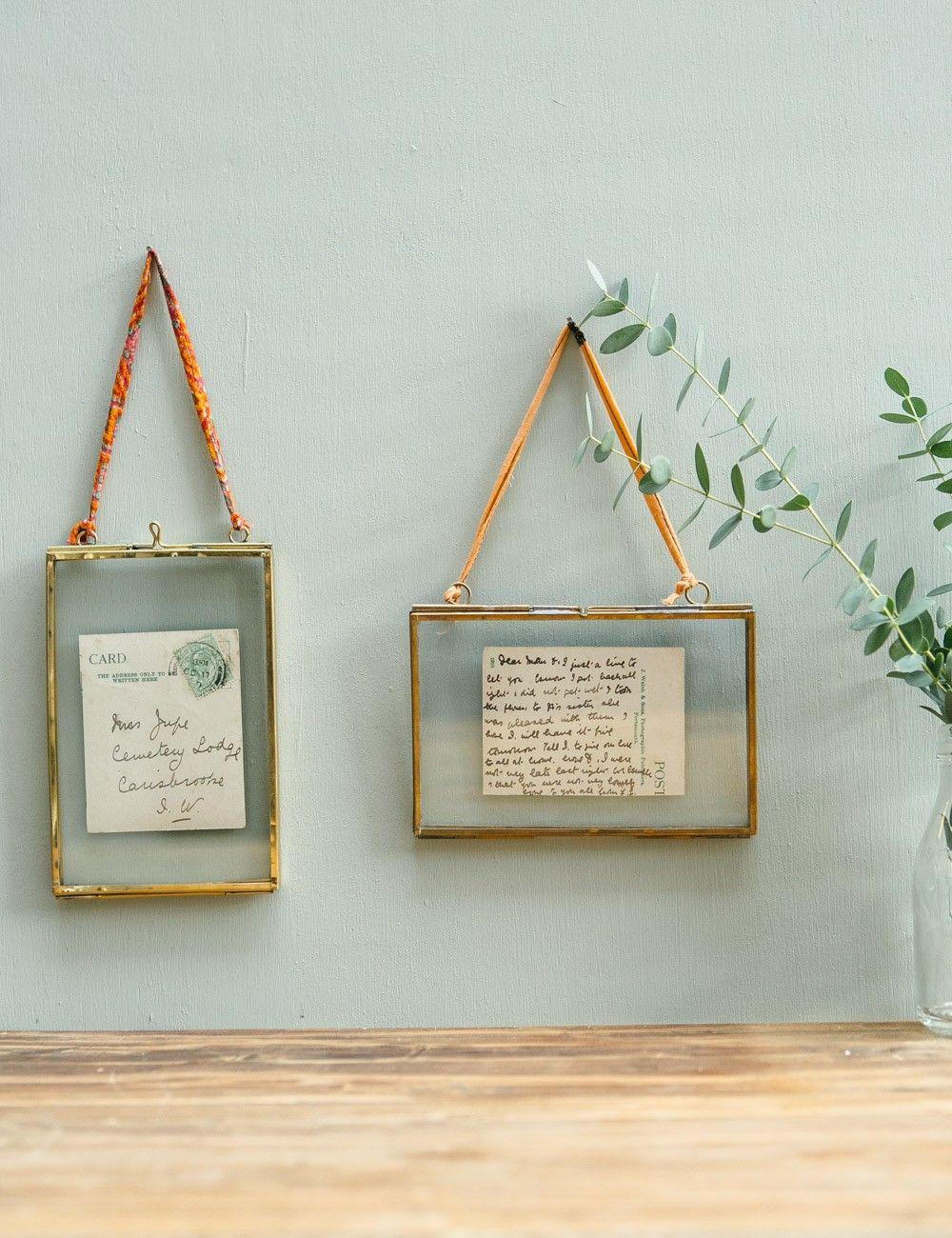 Small Brass Frames