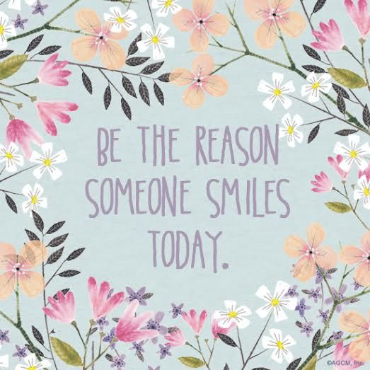 Be The Reason Someone Smiles Today Printables