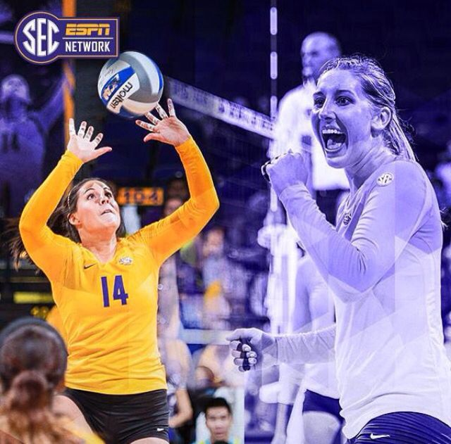 Lsu Volleyball Lsu Dream School Volleyball