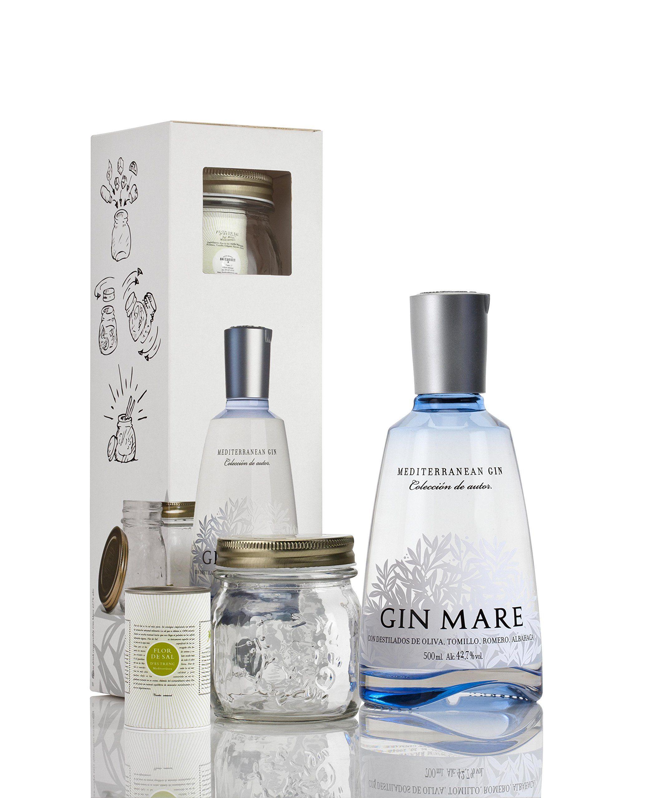 Gin mare med cocktail gift set 50 cl for Craft cocktail gift set