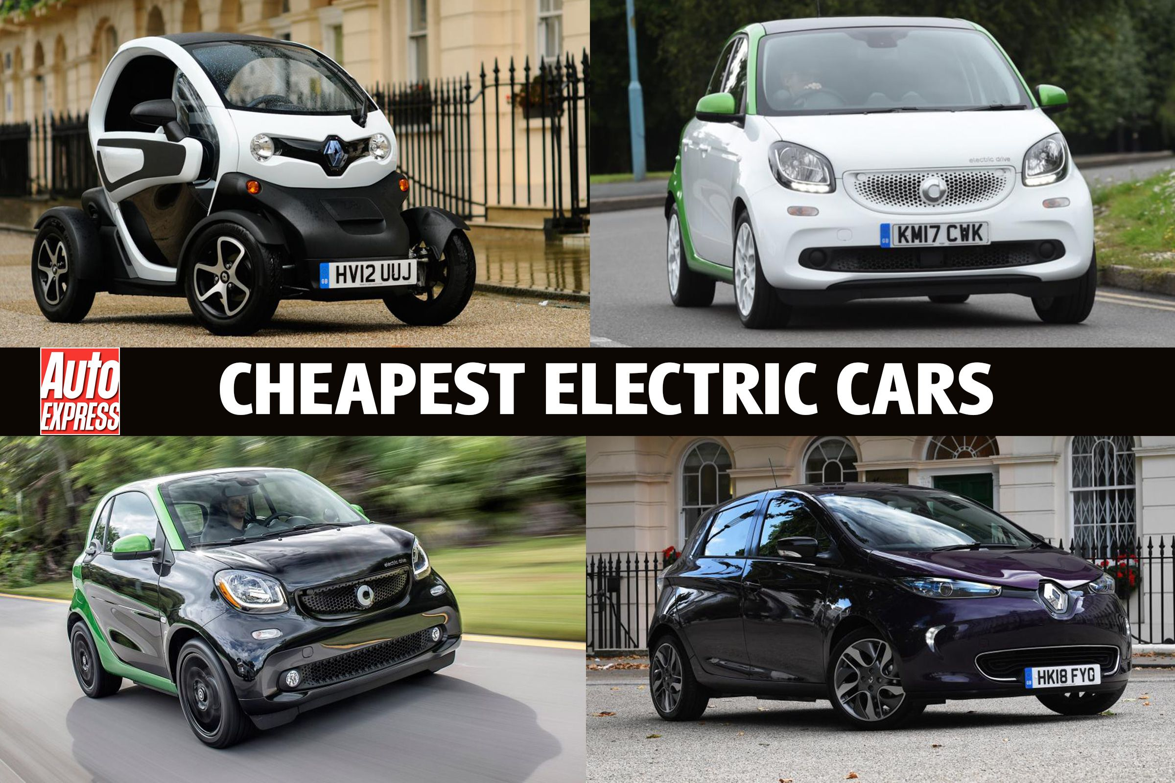 8 Cheapest Electric Cars Hibrit