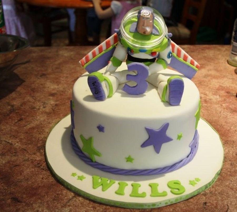 Buzz lightyear toy story birthday cake buzz lightyear