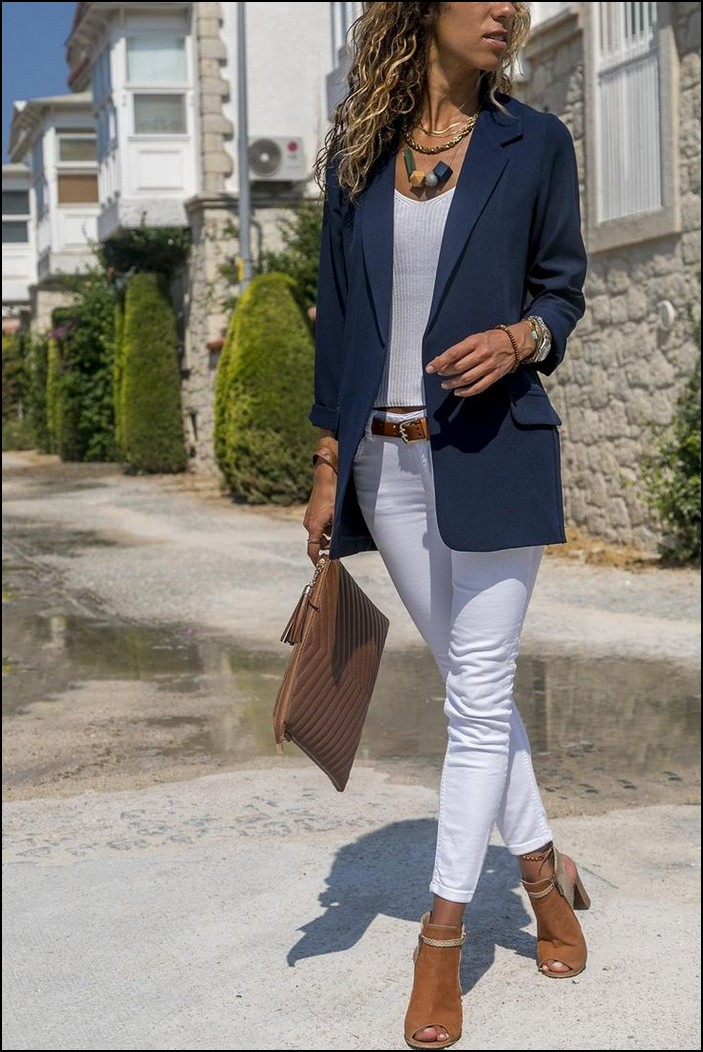 128 Trendy Business Casual Work Outfit For Women 2019 Page 25 Myblogika Com Spring Outfits Casual Summer Work Outfits Work Outfits Women