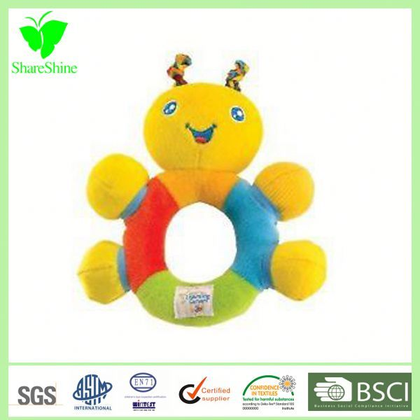 Pluh Elephant Baby Rattle Used Environmental Protection Material Pased Ce En71 Certification Early Development Toys Baby Soft Toys Developmental Toys