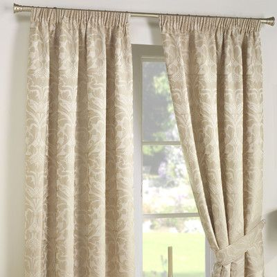 Dreams N Drapes Curtina Crompton Lined Curtains