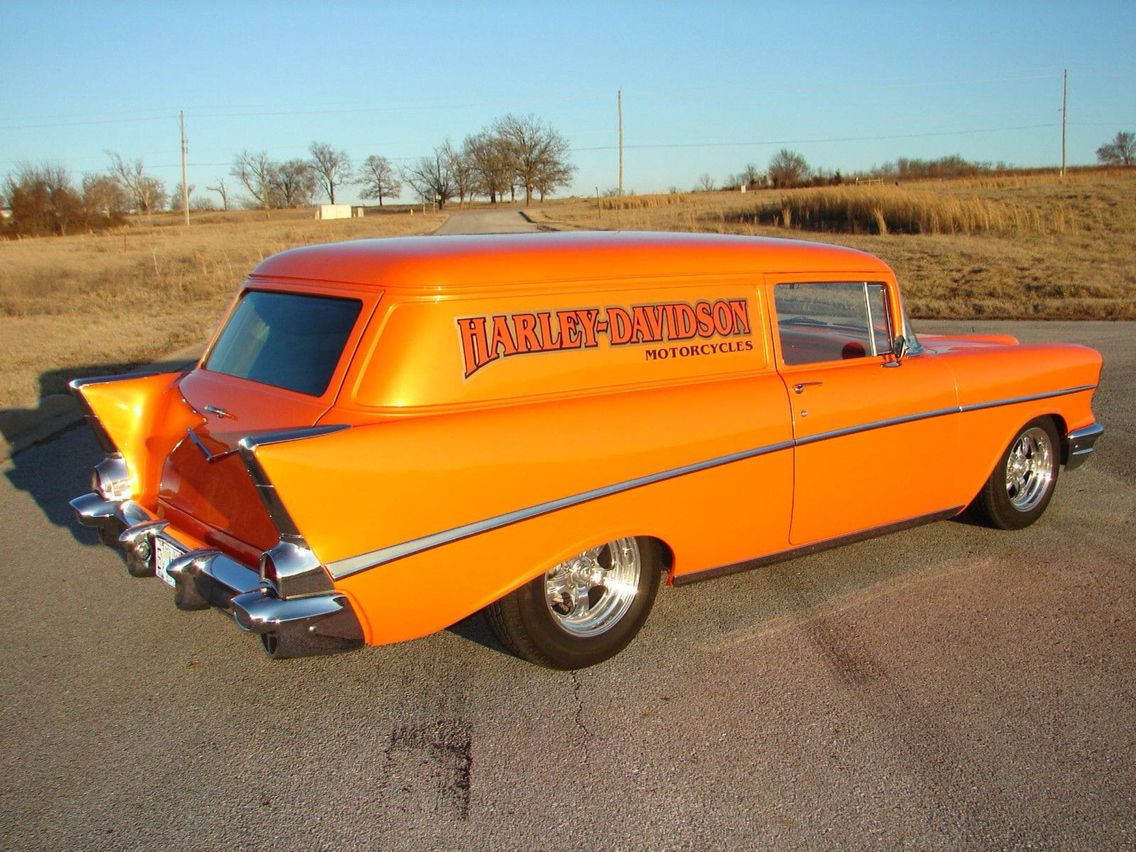 1957 Chevy Delivery Wagon   Re-pin Brought to you by