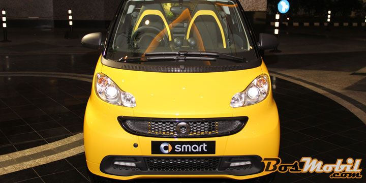 Tampil Berani Dengan Smart Fortwo Cityflame Limited Edition #fyi #BosMobil