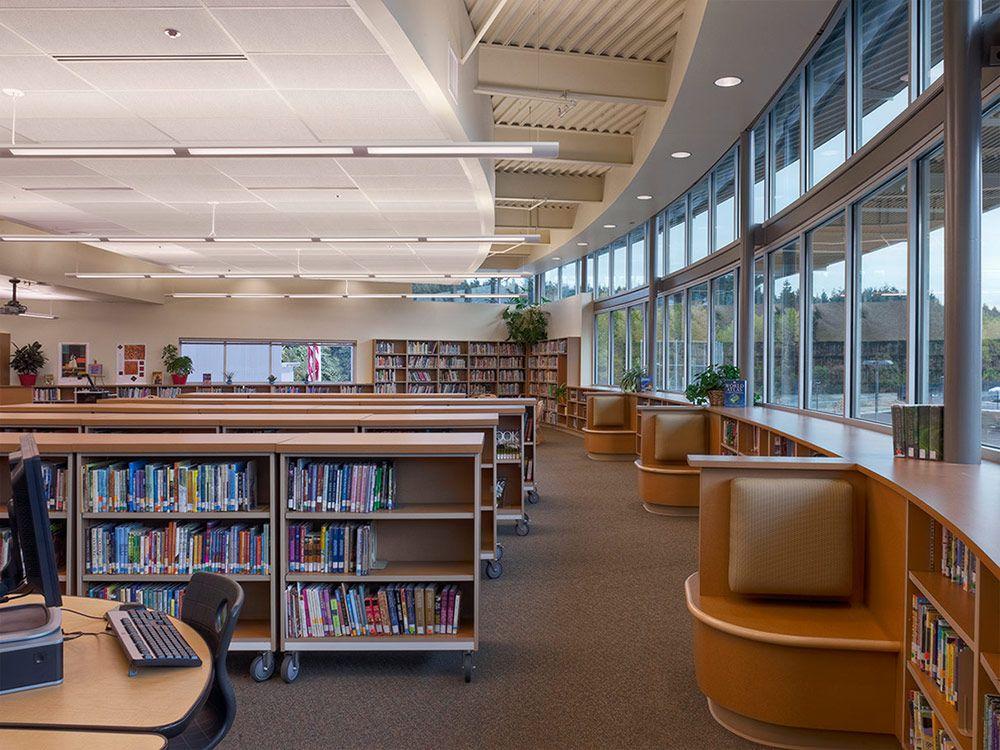 First Creek Middle School, Tacoma Public Schools - NAC - schüller küchen fronten