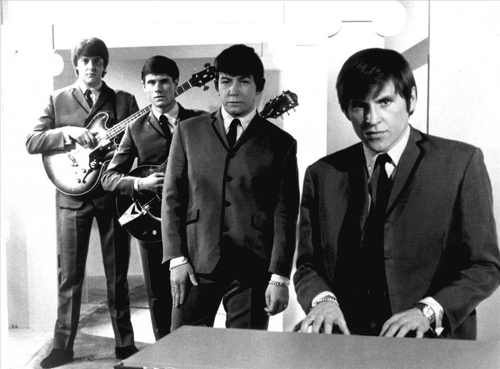 The animals 1960s black white photo