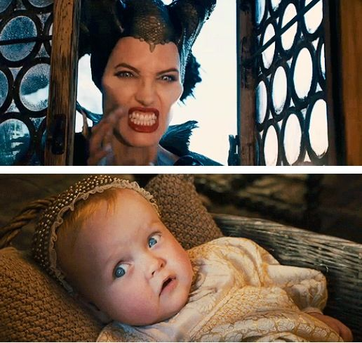 Maleficent Can T Scare A Baby Movies And Books