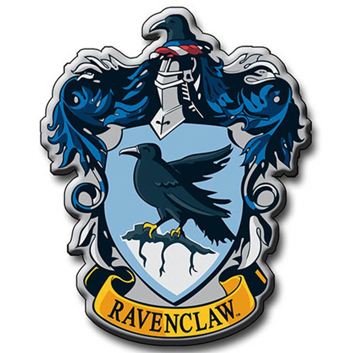 Harry Potter Ravenclaw Crest Magnet Escudos Harry Potter Harry