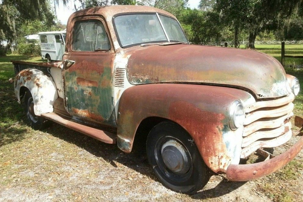 Rough But Ready: 1953 Chevrolet Pickup - http://barnfinds.com/rough ...