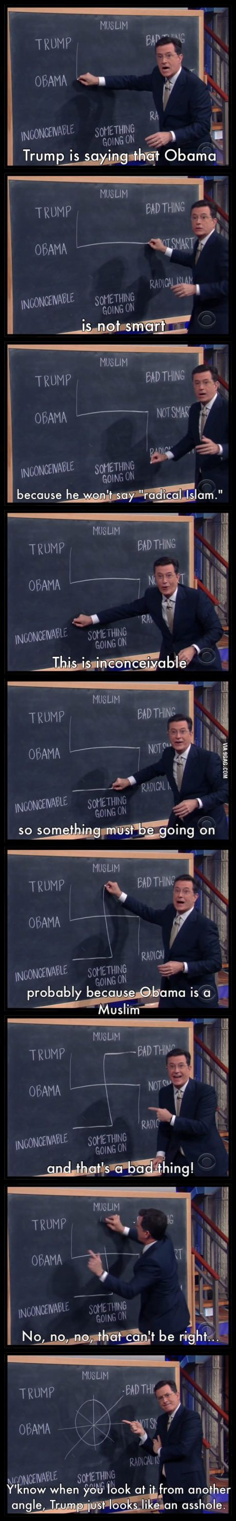 A round of applause for Stephen Colbert!
