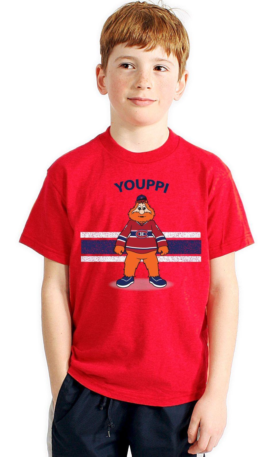 Youppi Montreal Canadiens Toddler Mascot T-Shirt  16fba3242