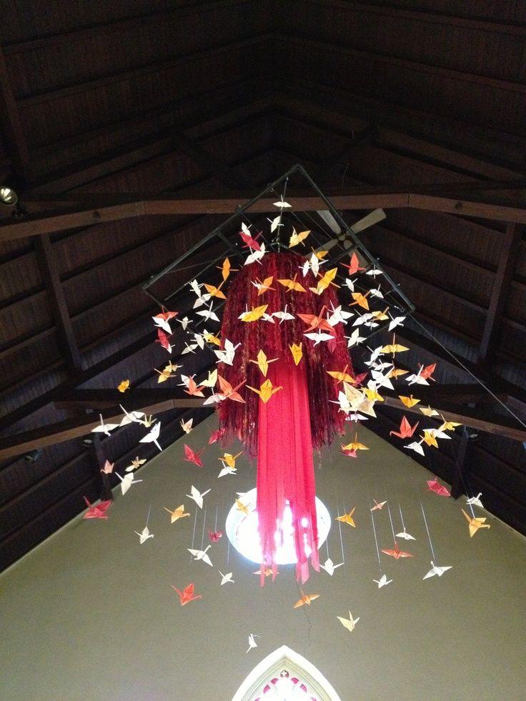 Decorating For Pentecost Sunday Pentecost 2013 Ashland