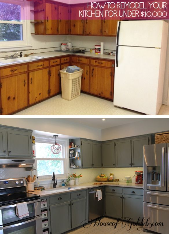 how to put in kitchen cabinets 12 diy cheap and easy ideas to upgrade your kitchen 4 17266