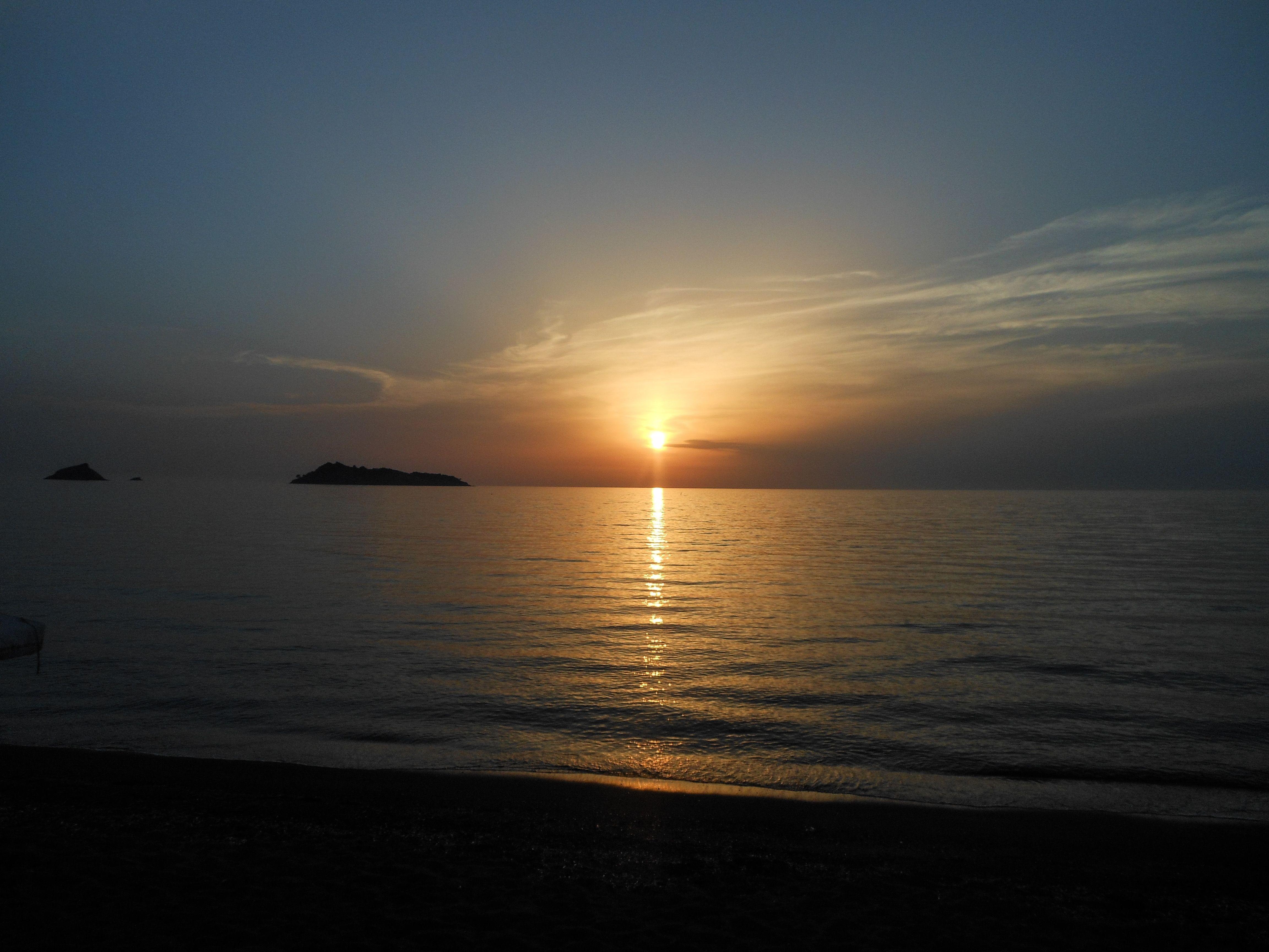 Sunset Petra, Lesbos, Greece