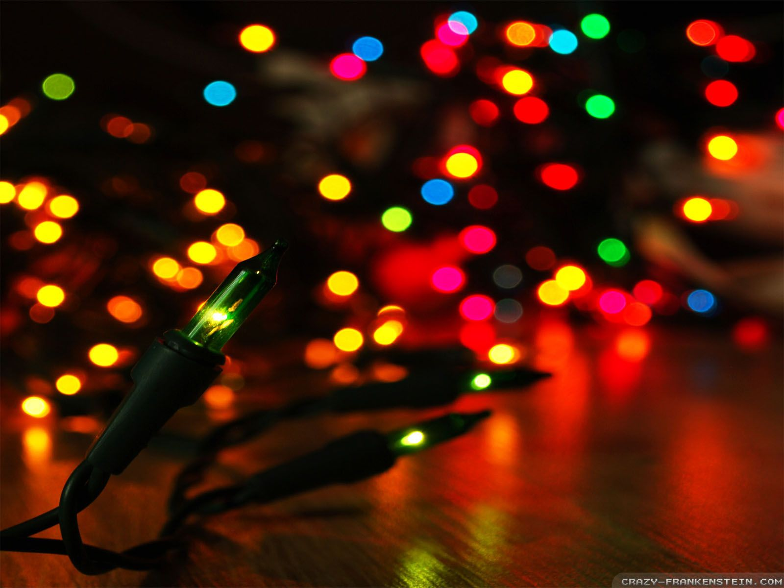 Christmas Lights HD desktop wallpaper High Definition