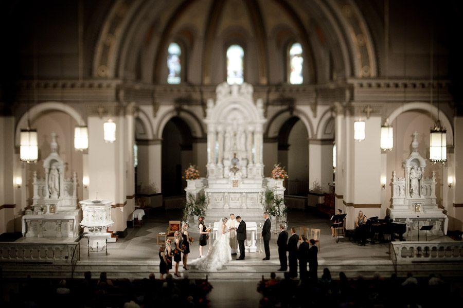Matt Shumate Photography Beautiful Wedding Ceremony At St Al S Church On Campus Gonzaga U