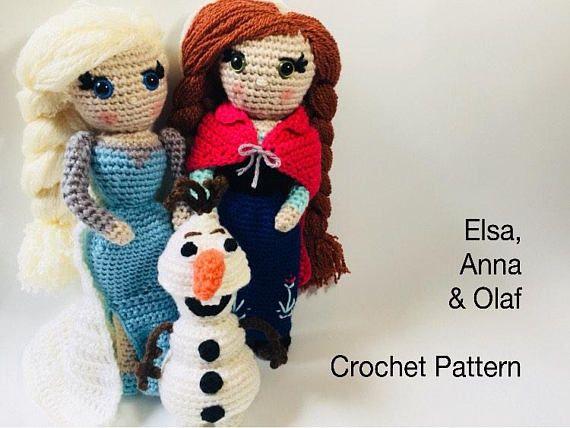 Amigurumi Patterns Olaf : Diy crochet disney frozen free patterns