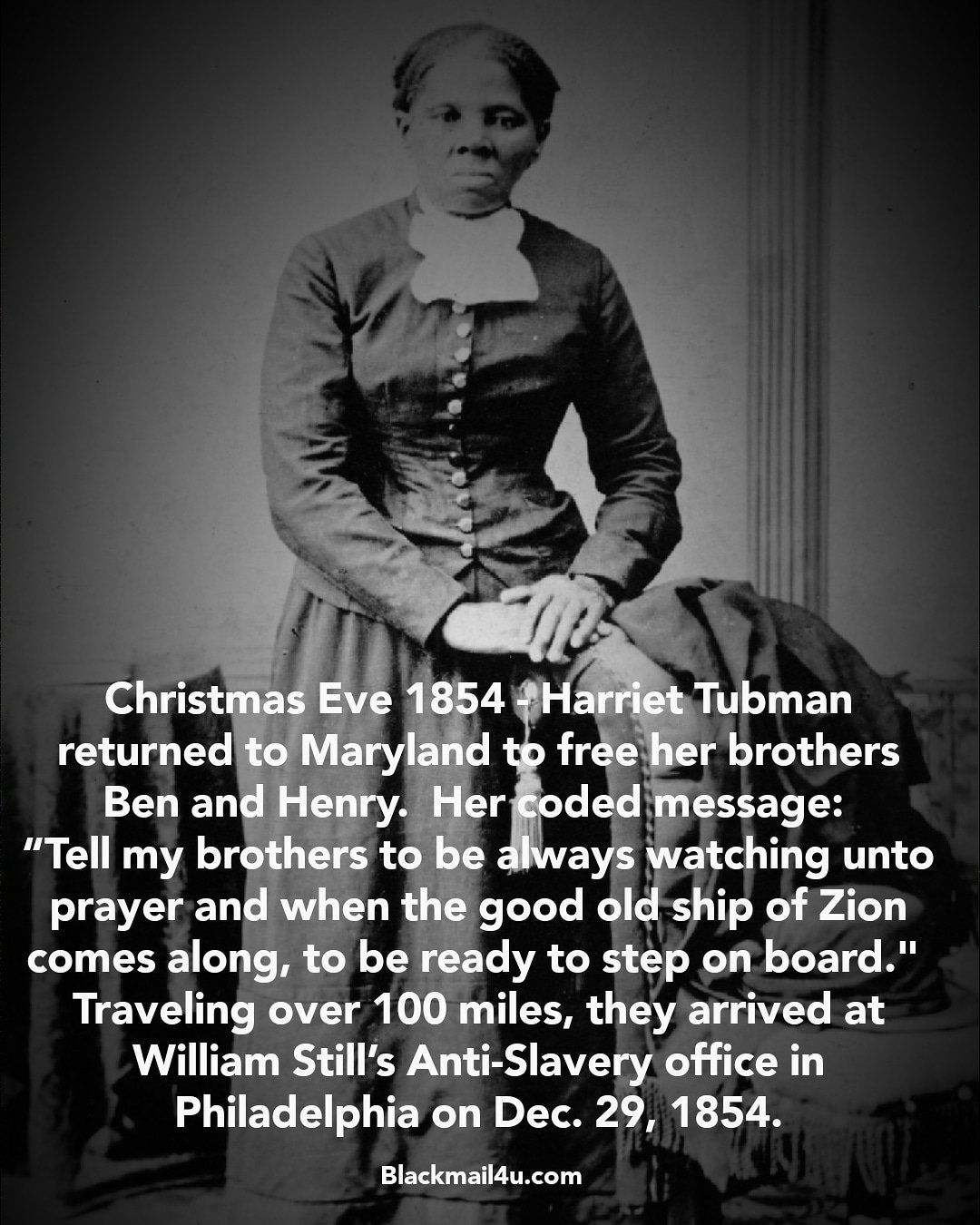 Harriet Tubman S Christmas Eve Rescue