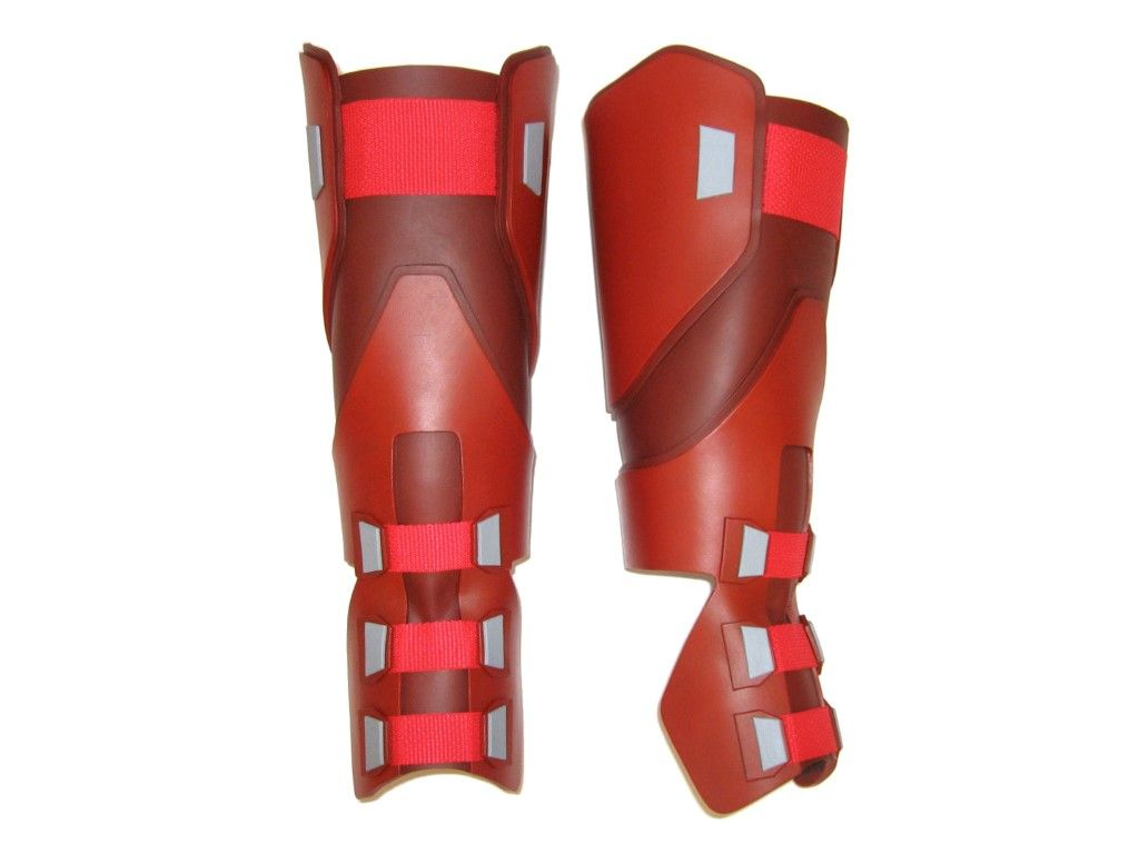 Dead Cosplay Shoes Deluxe PU Side Zipper Covers Knee High Halloween Costume Boots