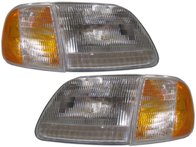 Parking Corner Lights w//Bezel Left LH for 05-07 Ford Pickup Truck Super
