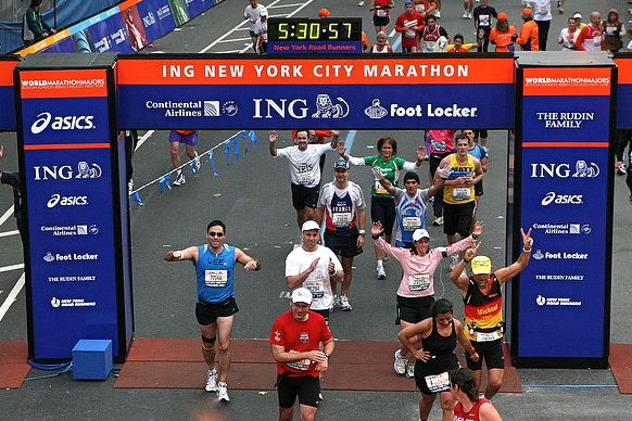 New York City Marathon But First Would Just Like To Finish A