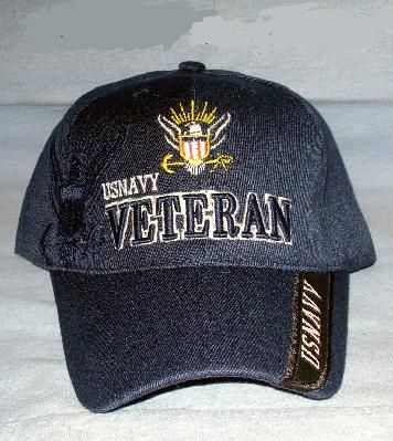Extreme Embroidered Cap U.S Navy NAVY VETERAN