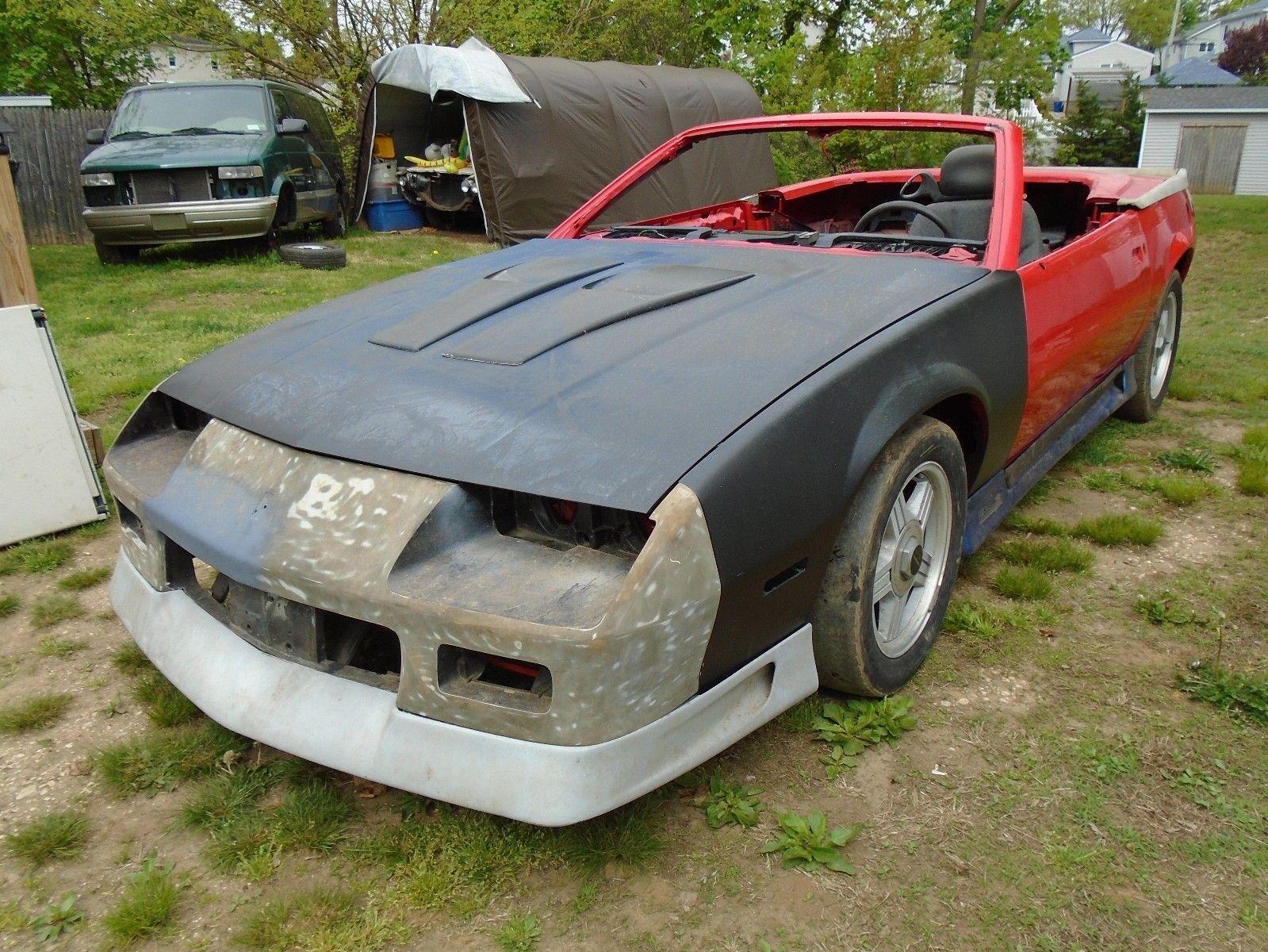 rare 1990 Chevrolet Camaro Rally SPORT project Chevrolet