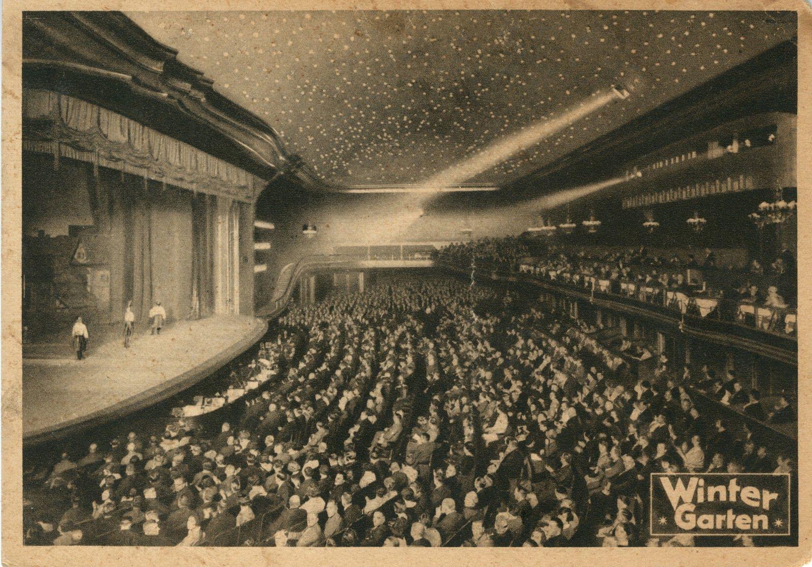 the berlin winter garden theatre rạp chiếu phim nhà hát đầu tiên