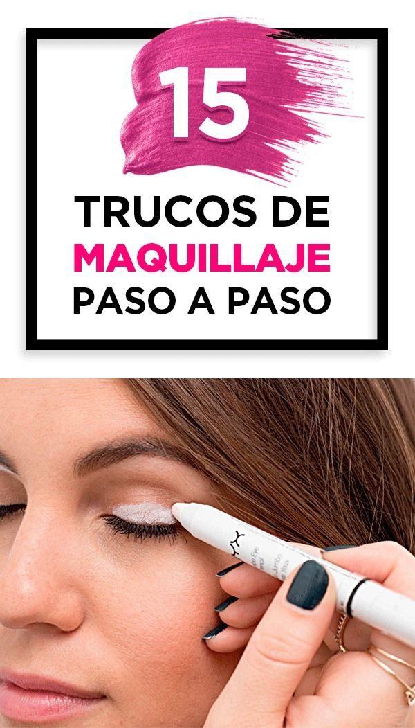 Trucos de maquillaje paso a paso   – Peinados