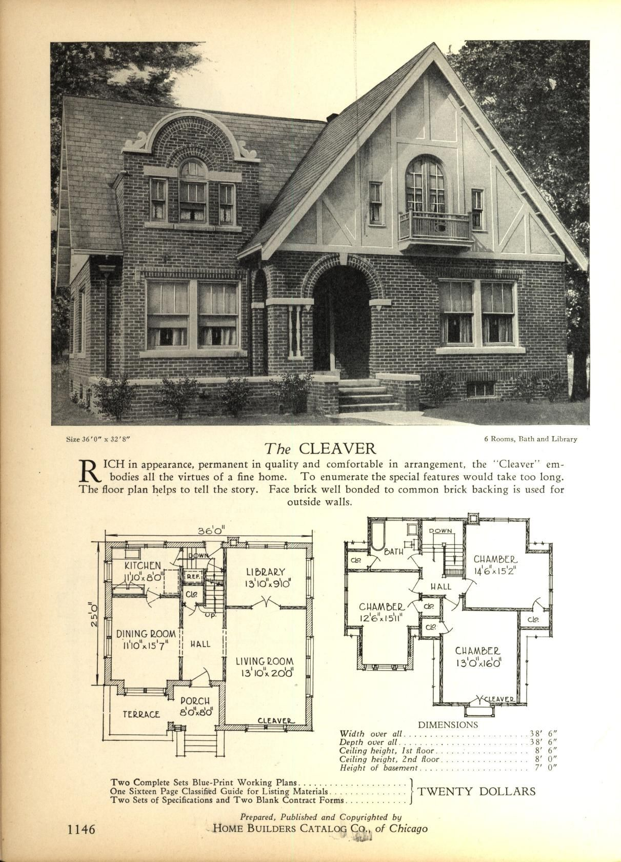 Pin On Vintage House Plans