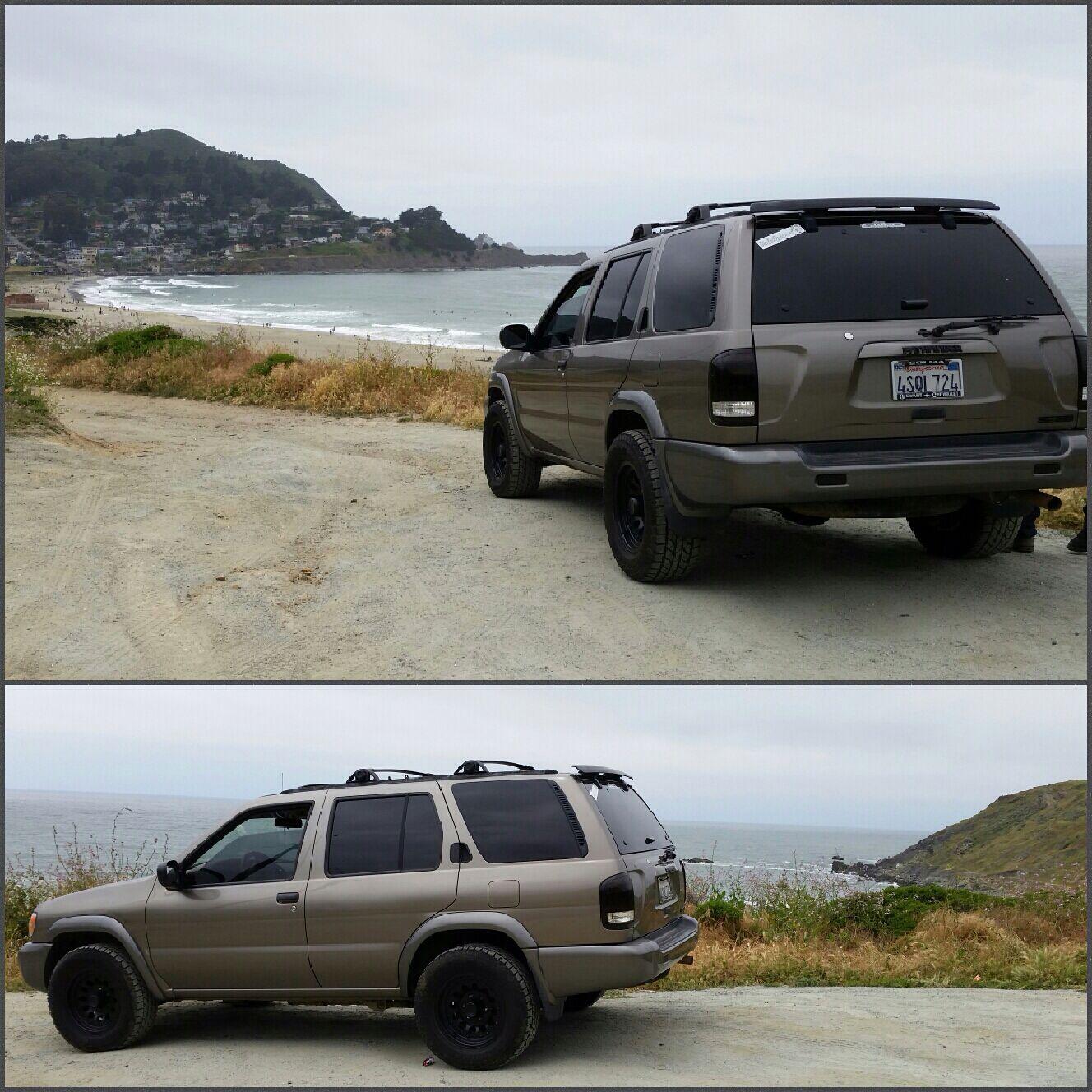 Beach Lookout Nissan pathfinder, Pathfinder, Nissan 4x4