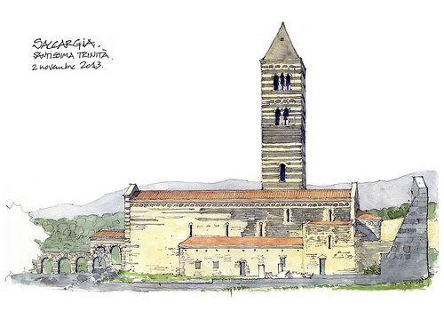 Saccargia, Santissima Trinità, Sud | Flickr - Photo Sharing!