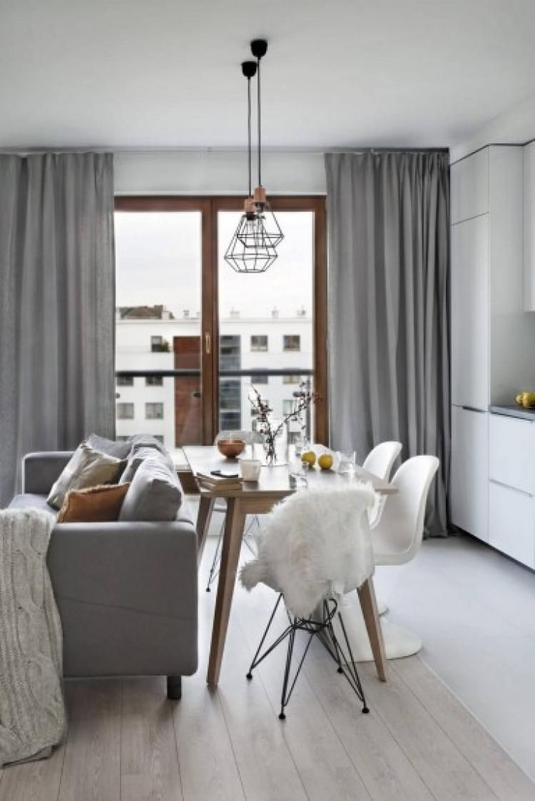 Elongated Living Room Design Ideas 20 Small Apartment Interior Scandinavian Dining Room Dining Room Small